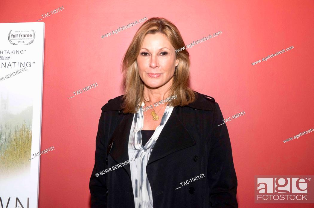 Stock Photo: Maria Cuomo Cole at the premier of Newtown at the Landmark Sunshine Theater on October 7, 2016 in New York, New York.