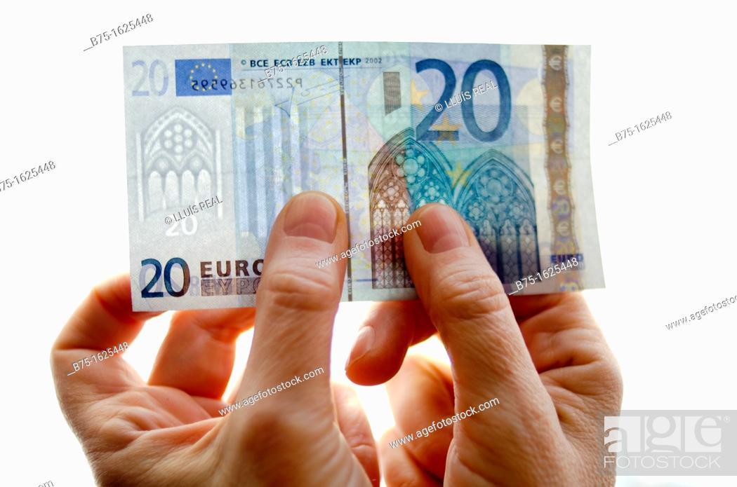 Stock Photo: Euros.