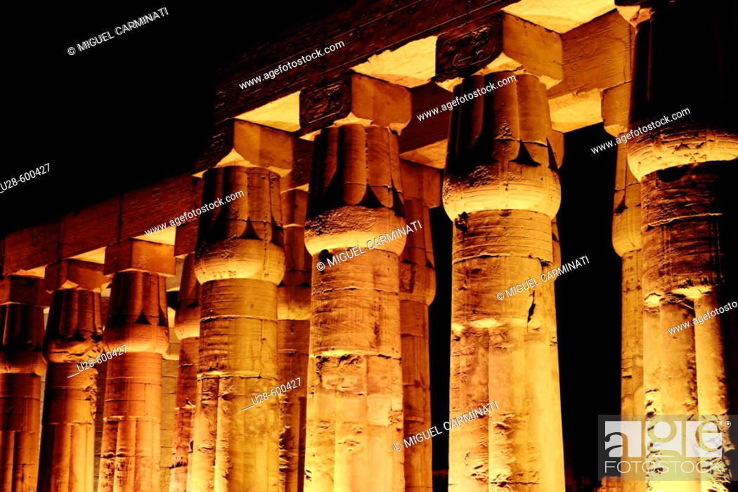 Stock Photo: Luxor. Egypt.