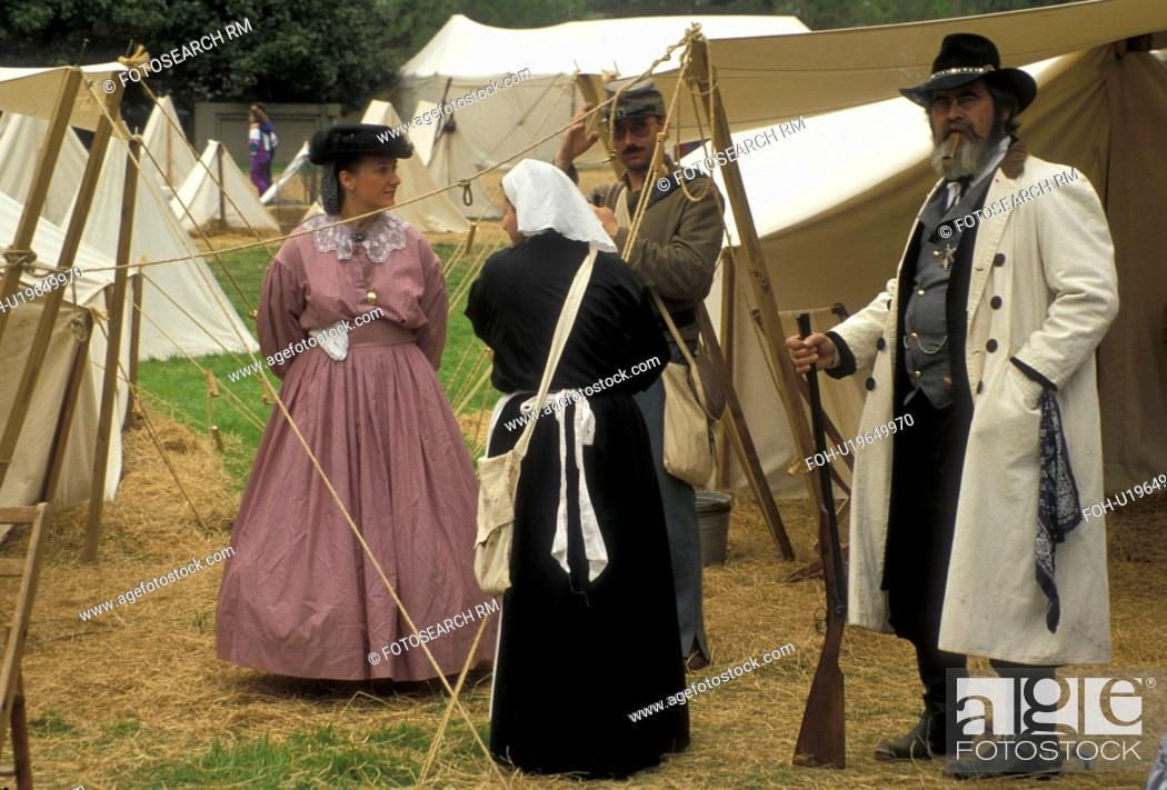 Civil War Reenactment, Stone Mountain, Atlanta, Stone