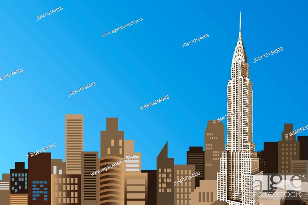 Stock Photo: America, New York, Empire State Building.