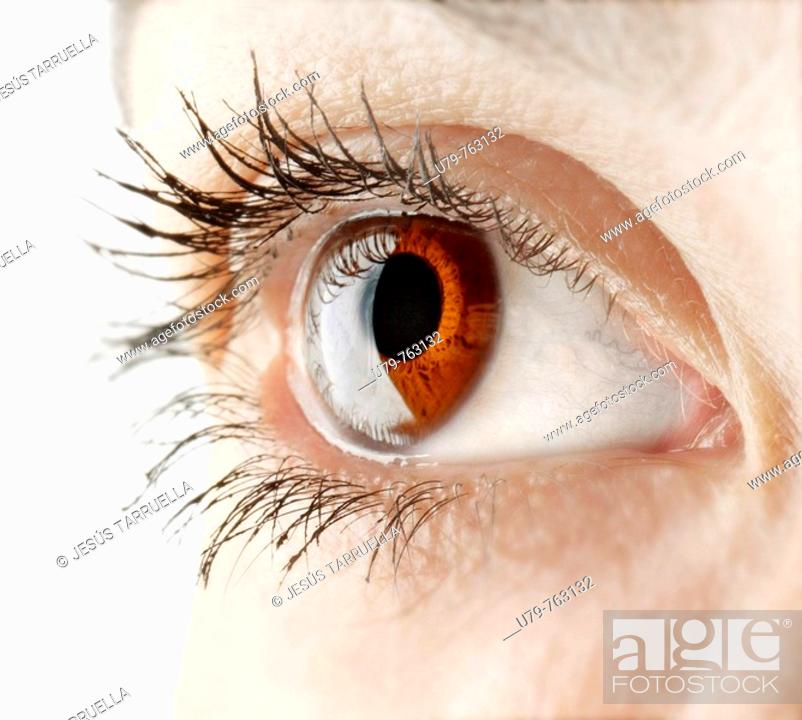 Stock Photo: Woman's eye r.