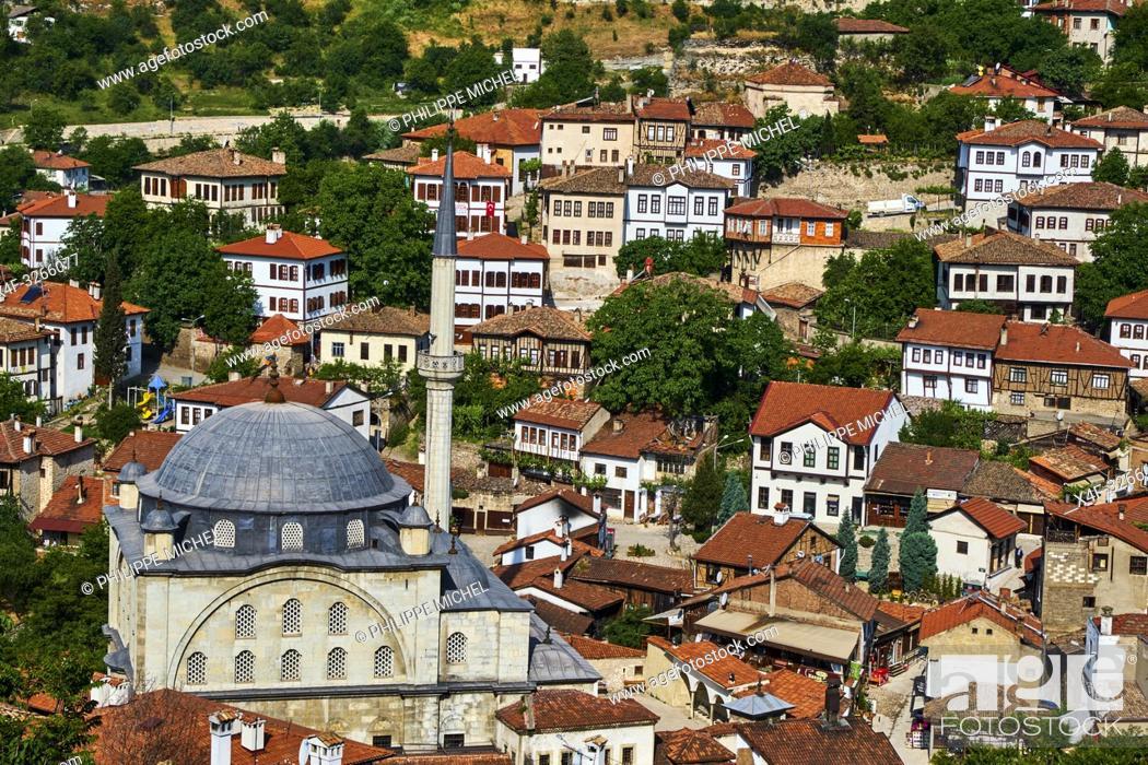 Stock Photo: Turkey, Safranbolu, old Ottoman town houses, Unesco world heritage.