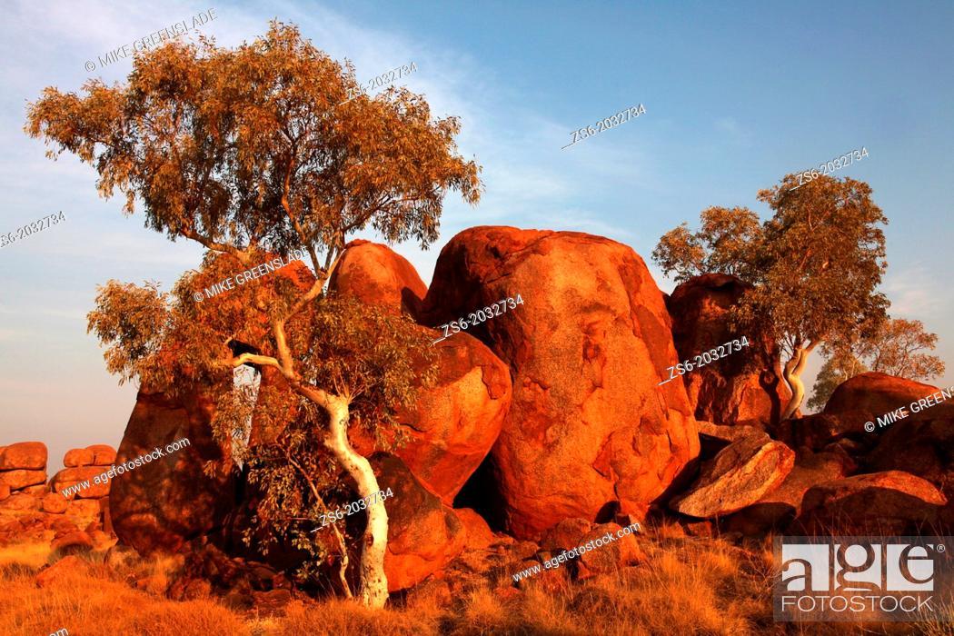 Imagen: The Devil's Marbles, NT, Australia.