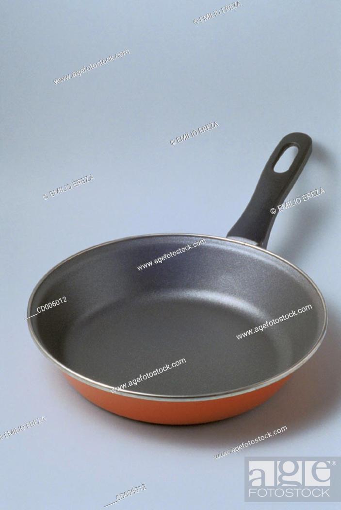Stock Photo: Frying pan.