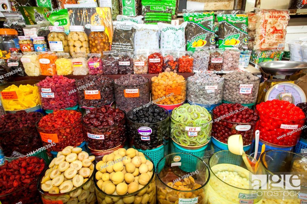 Asia, Thailand, Chiang Mai, Warorot Market, Market, Markets