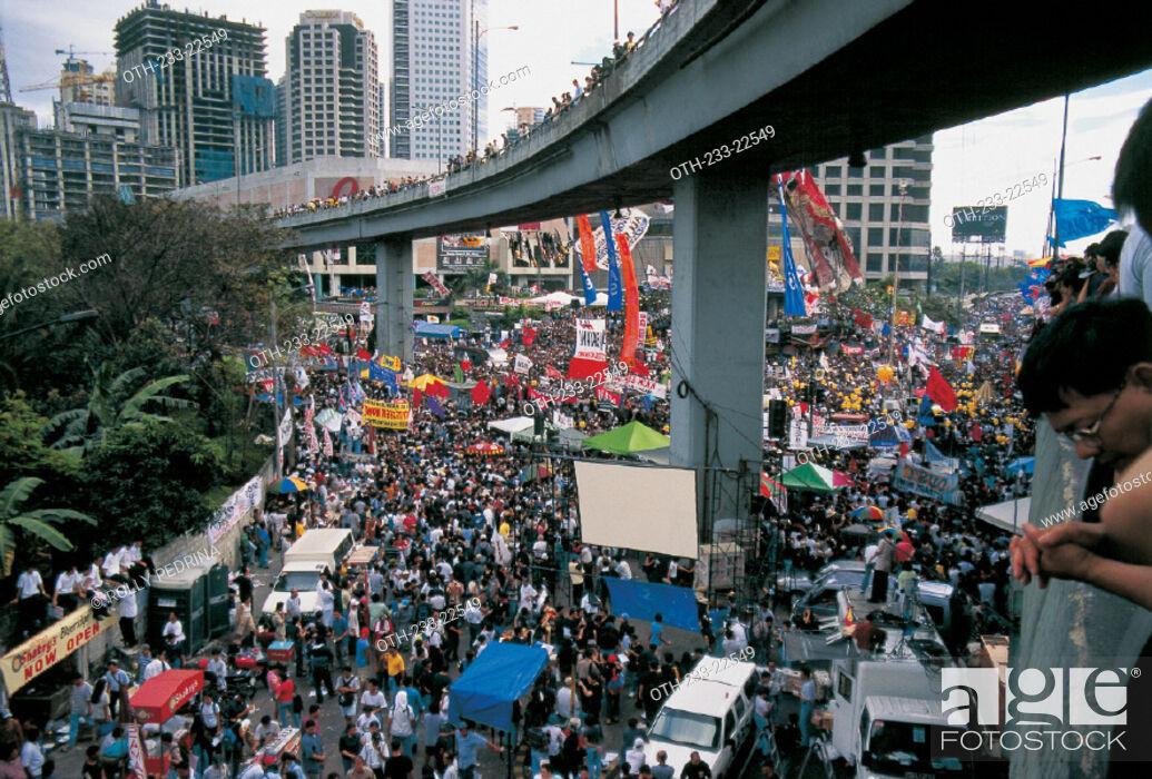 Imagen: Edsa II 2001, Philippines.