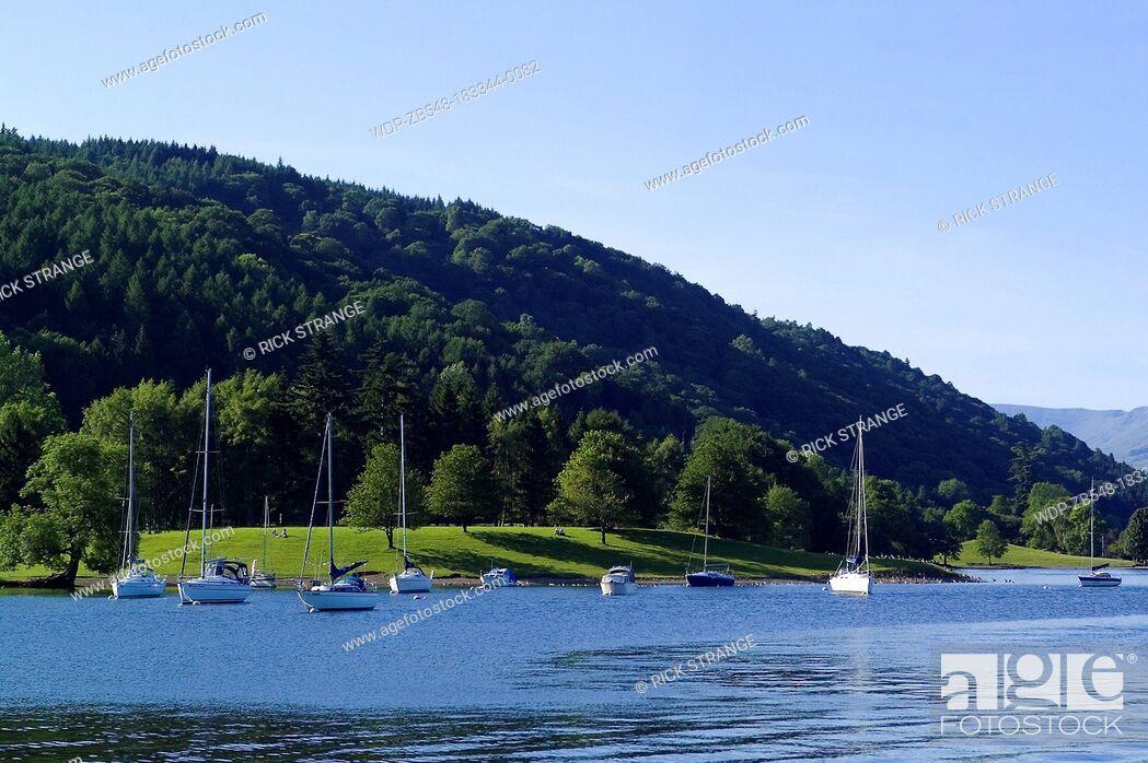 Imagen: Lake Windermere, Lake District, Cumbria, UK.