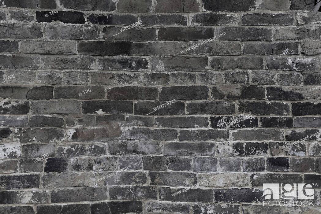 Stock Photo: Brick Wall Culture Wall.