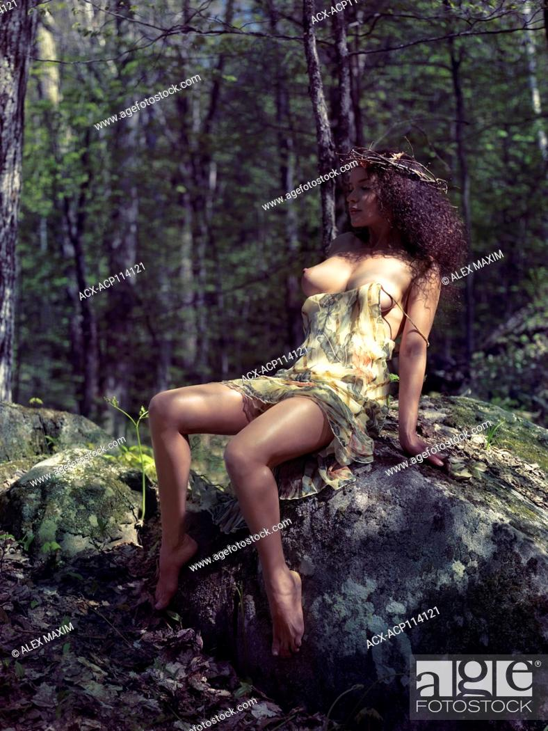 Naked Woman Forest