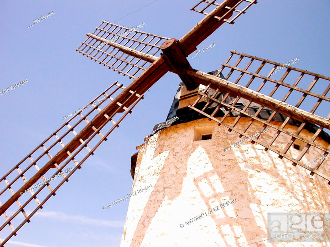 Stock Photo: Windmill.