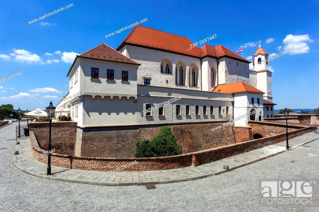 Imagen: Spilberk Castle, medieval monument on hill top, Brno, South Moravia, Czech Republic.