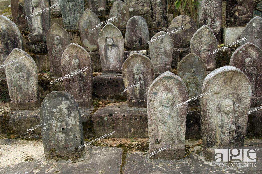 Stock Photo: Gods statue in kotokuji temple. Matsumoto. Kiso district. Nagano prefecture. Chubu Region. Japan.