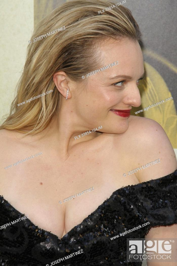 "Stock Photo: Elisabeth Moss at Warner Bros. Pictures' """"The Kitchen"""" Premiere held at the TCL Chinese Theatre, Los Angeles, CA, August 5, 2019."