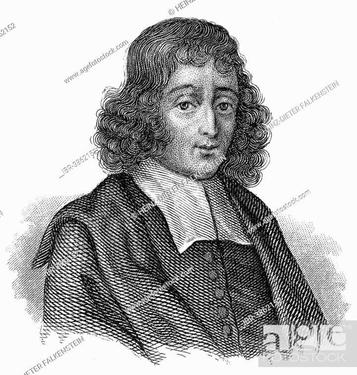 Portait Of Baruch Spinoza Or Benedict De Spinoza 1632
