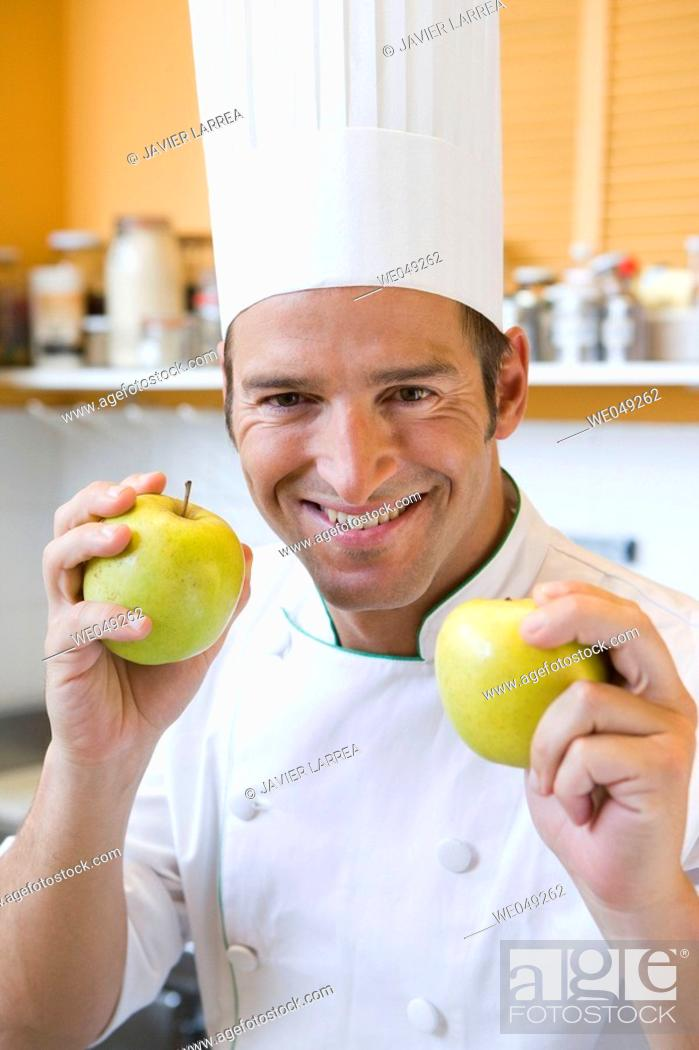 Stock Photo: Apples. Luis Irizar cooking school. Donostia, Gipuzkoa, Basque Country, Spain.