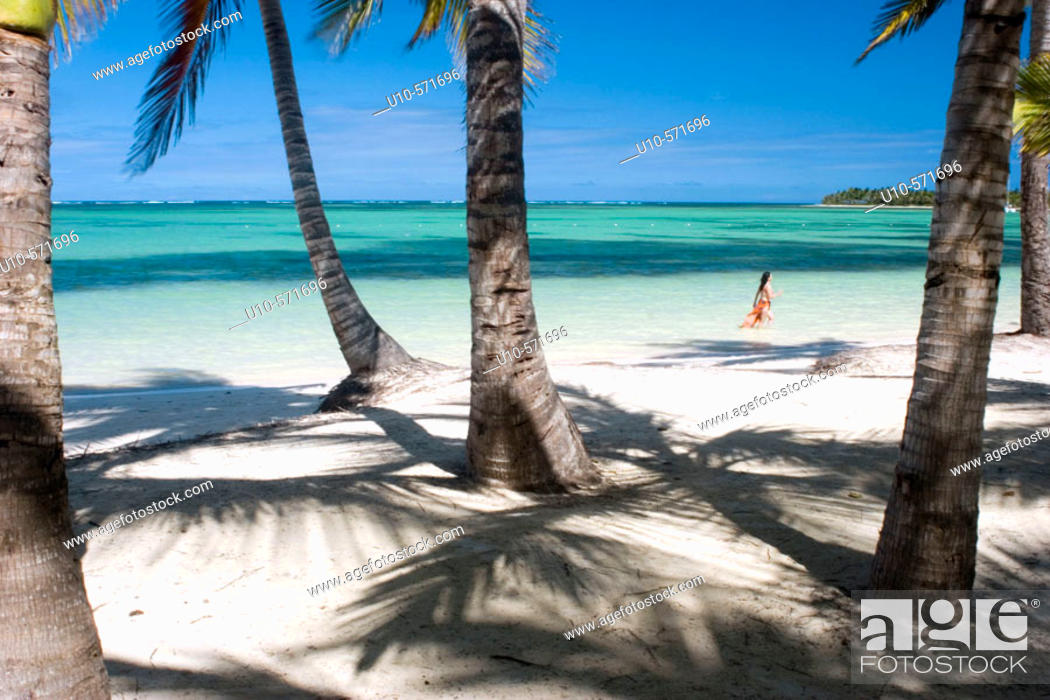 Stock Photo: Playa Bávaro, Dominican Republic, Caribbean.