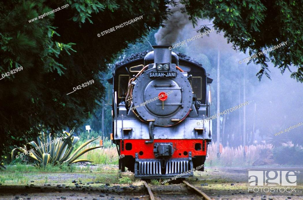 Stock Photo: Steam train. South Africa.