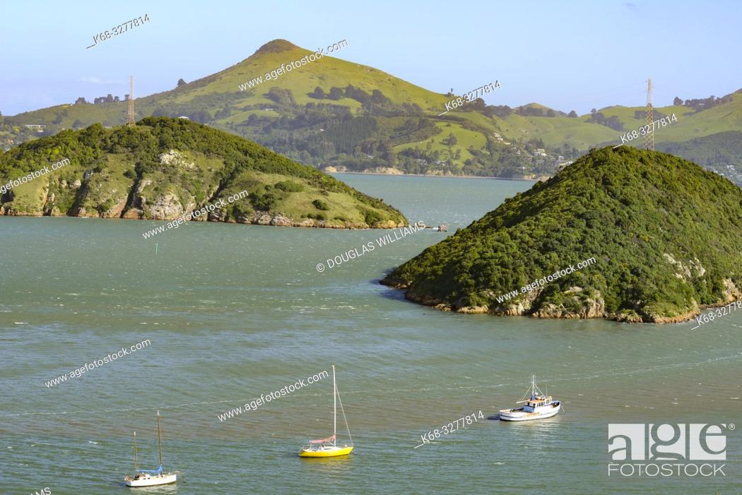 Stock Photo: Port Chalmers, New Zealand.