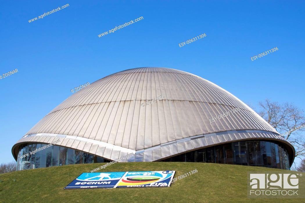 Stock Photo: Zeiss Planetarium in Bochum, Germany.