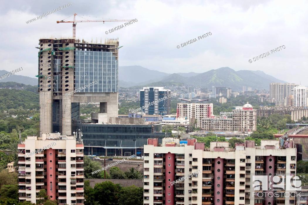 Under construction of radisson hotel, kanjurmarg, mumbai