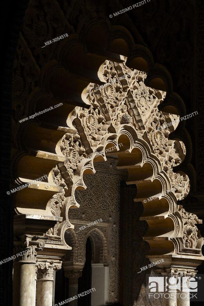 Imagen: Alcázar of Seville, Andalusia, Spain.