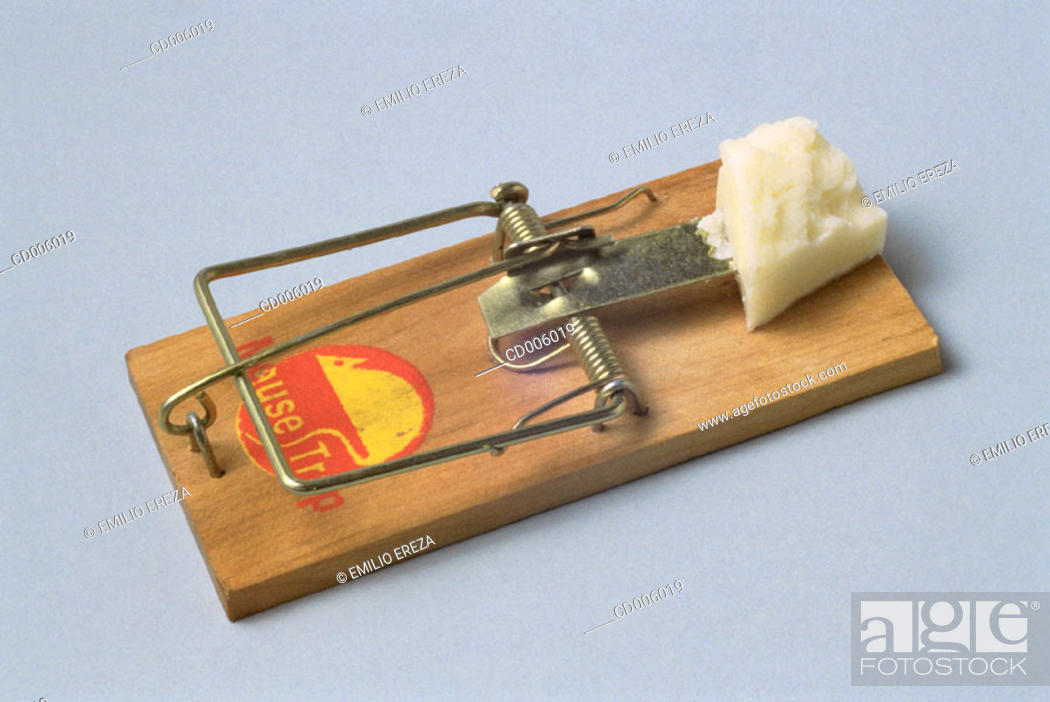 Stock Photo: Mousetrap.