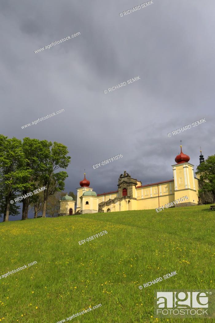 Imagen: Monastery of the Mother of God Hedec, Eastern Bohemia, Czech Republic.