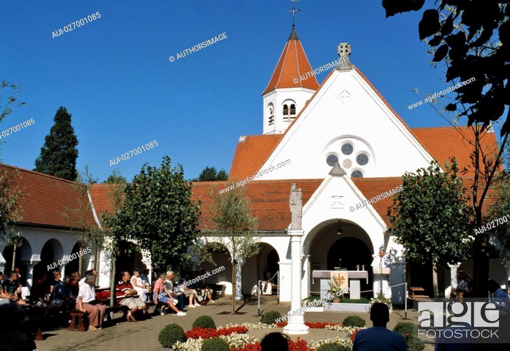 Stock Photo: Belgium - Flanders - Knokke - Dominican Church.