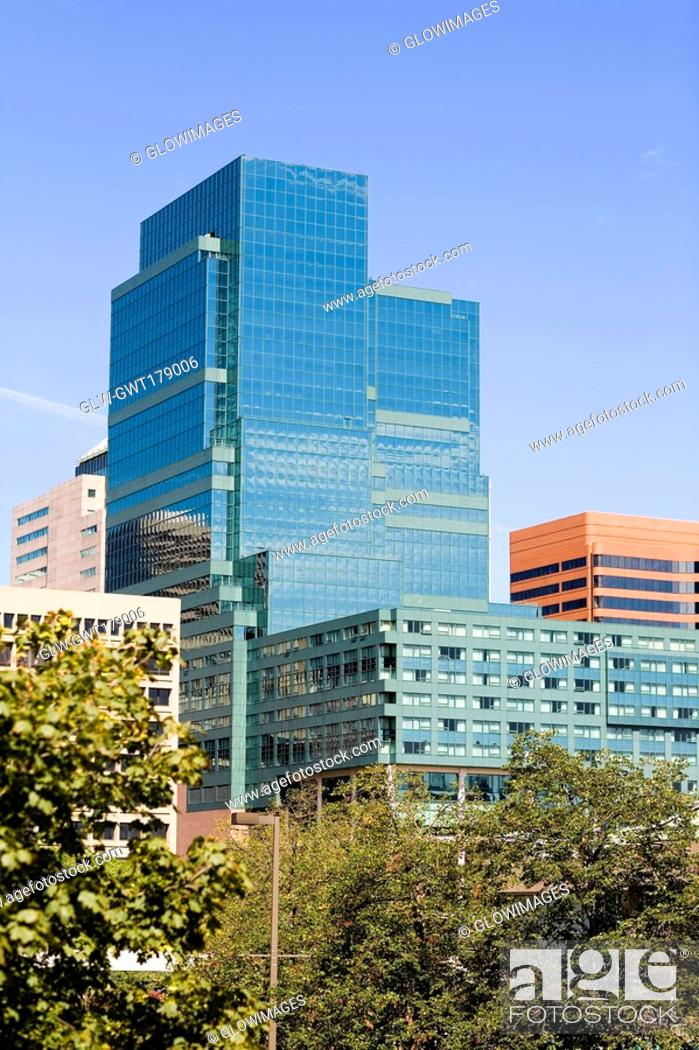 Stock Photo: Buildings in a city, Baltimore, Maryland, USA.