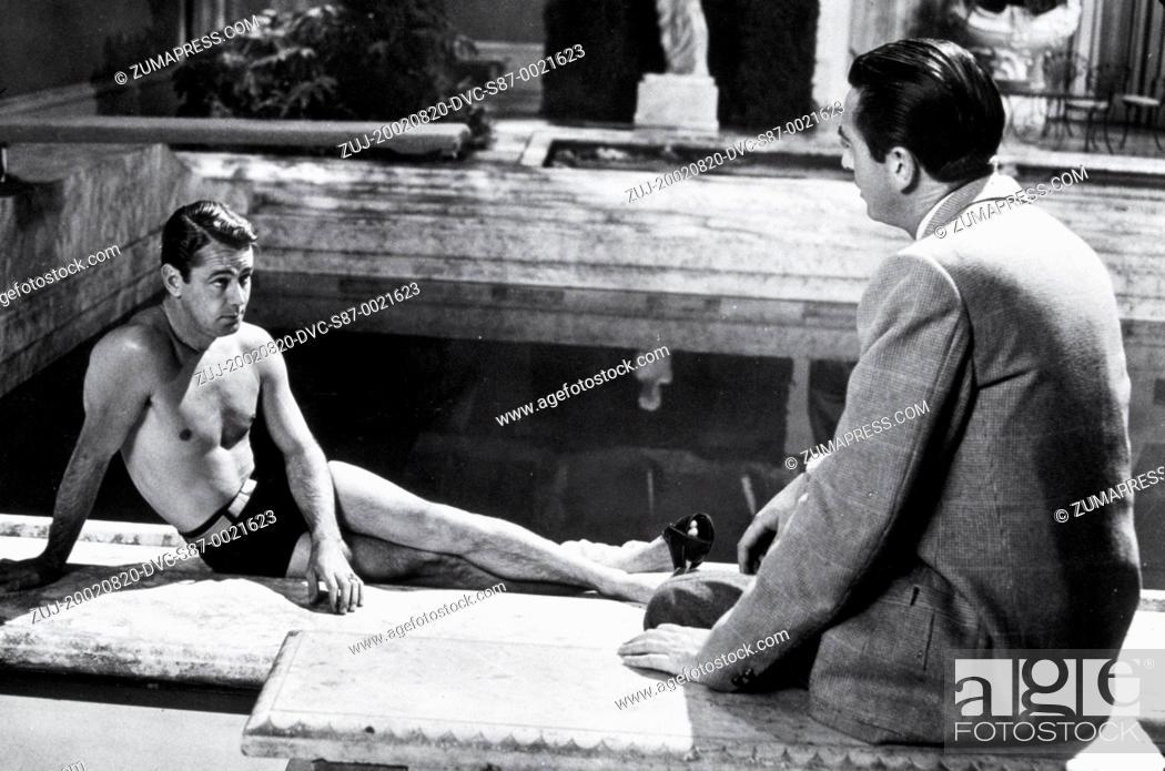 Stock Photo: 1949, Film Title: GREAT GATSBY, Director: ELLIOTT NUGENT, Studio: PARAMOUNT, Pictured: MACDONALD CAREY, ALAN LADD. (Credit Image: SNAP/ZUMAPRESS.com).
