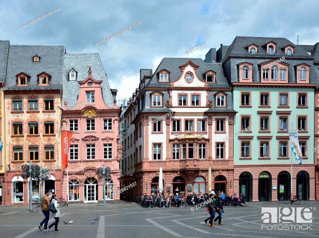 Stock Photo: Mainz, Rhineland - Pfalz, Germany.
