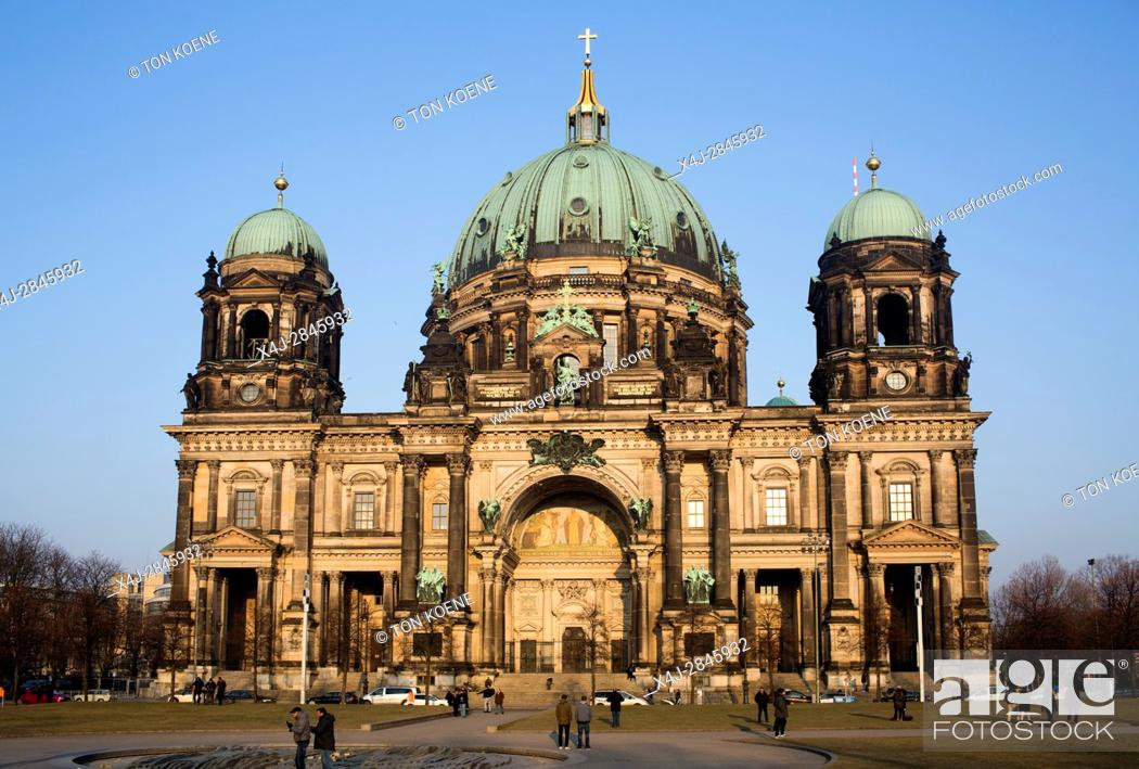 Stock Photo: Berlin Cathedral (Berliner Dom), Berlin, Germany.