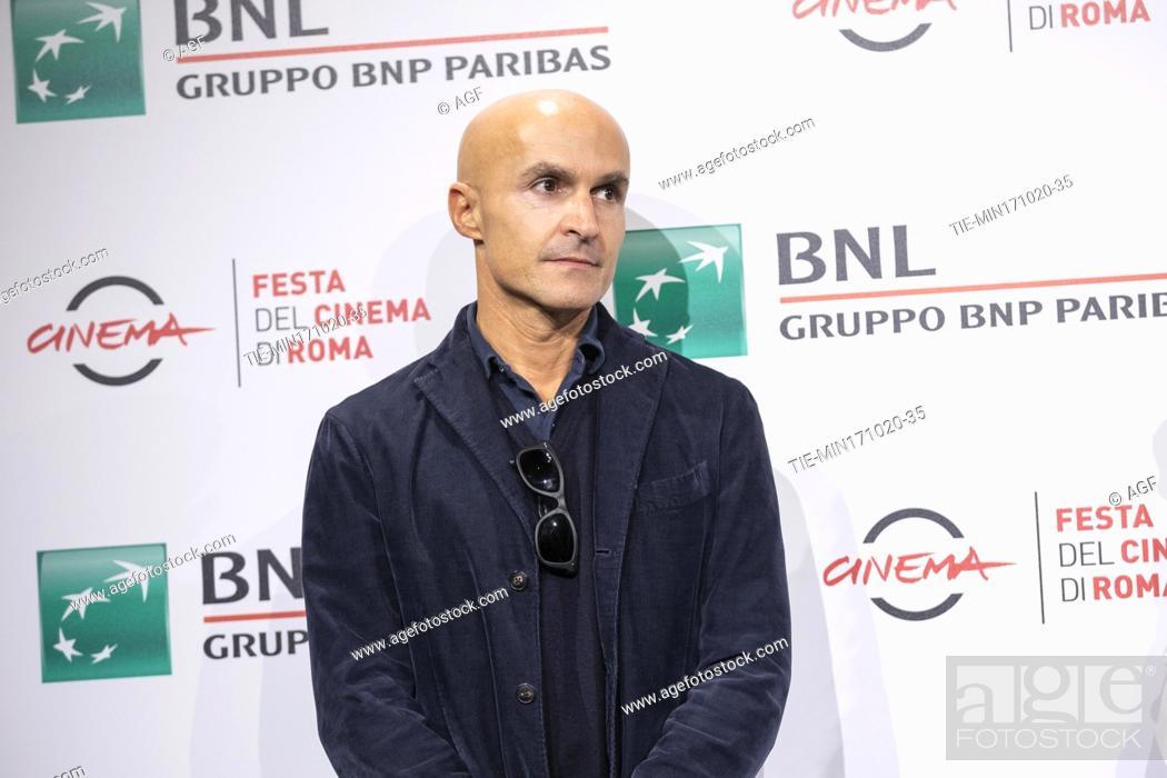 "Stock Photo: Lorenzo Mieli attends the photocall of the movie """"Mi chiamo Francesco Totti"""" during the 15th Rome Film Festival on October 17, 2020 in Rome, Italy."