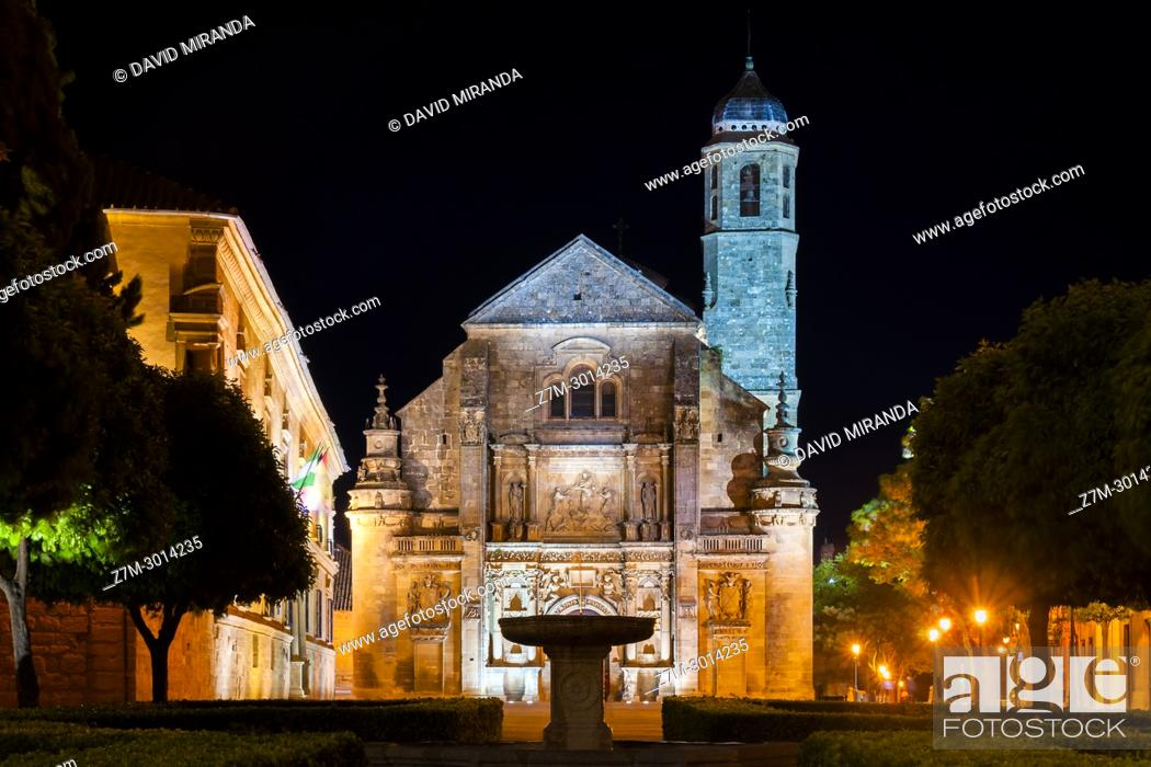Stock Photo: Capilla del Salvador. Ubeda. Jaen Province. Andalusia. Spain.