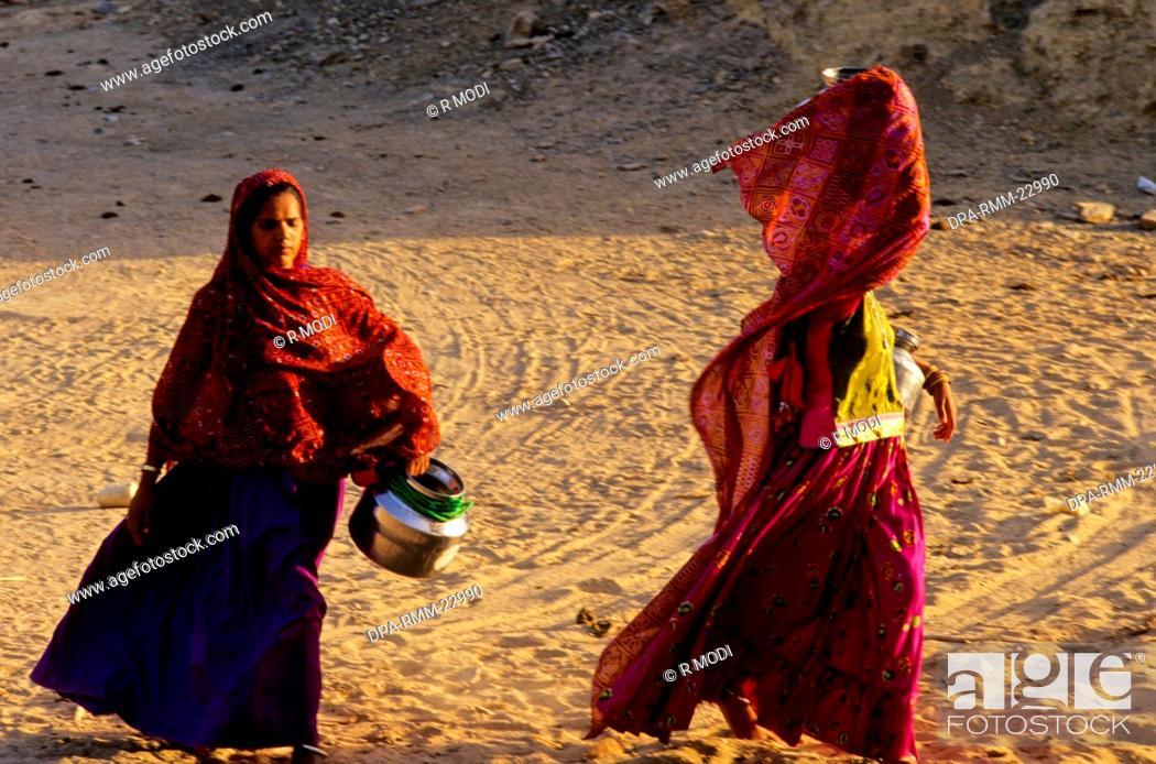 Stock Photo: Drought , Water Crisis , Bhuj , Kutch , Gujarat , India.