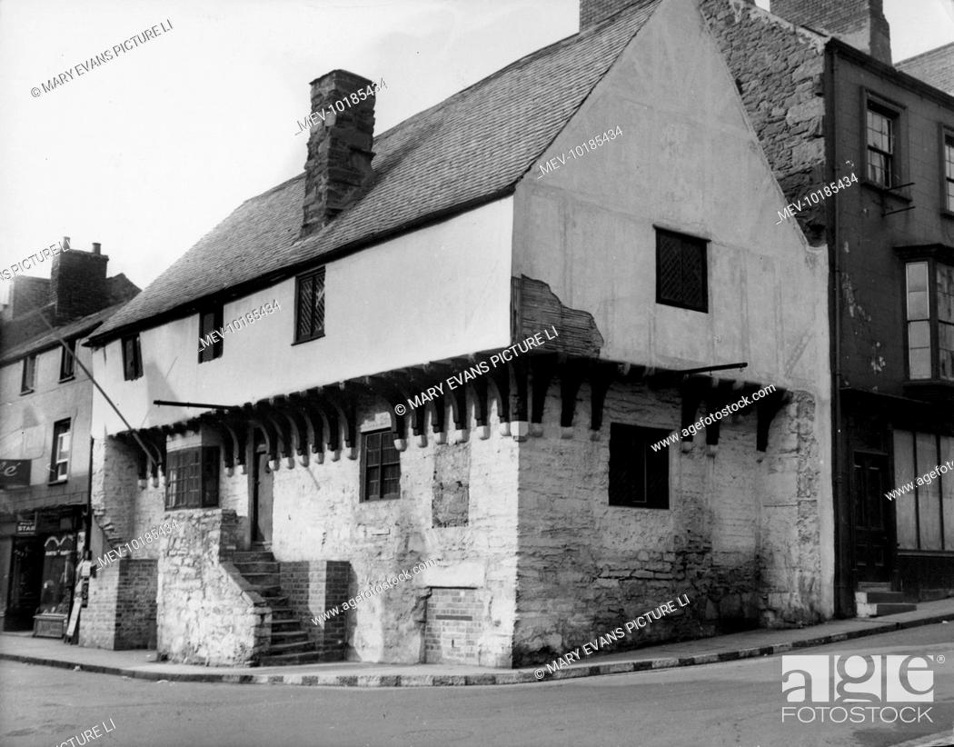 The Aberconway, an ancient timbered building in Conway