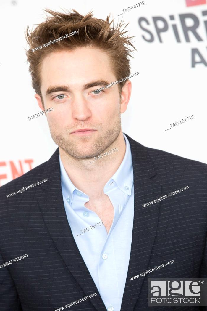 Stock Photo: Robert Pattinson attends the Independent Spirit Awards on March 3, 2018 in Santa Monica, California.