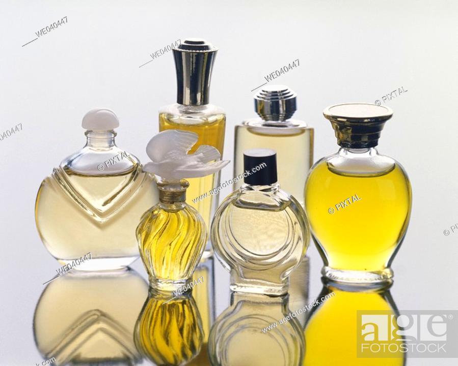 Stock Photo: Perfumes.