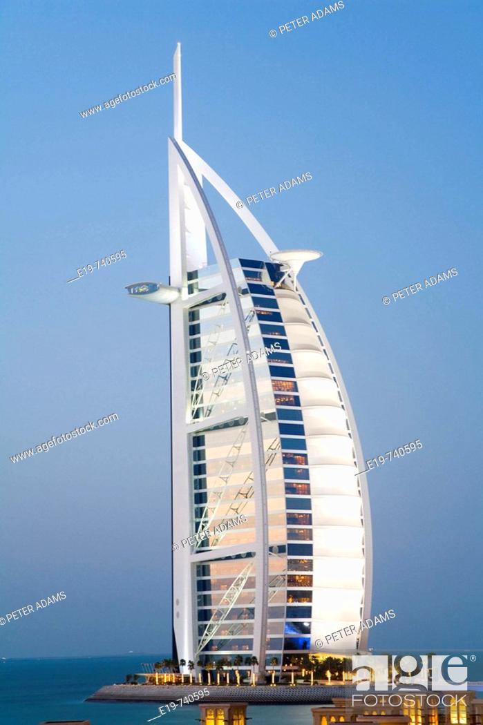 Stock Photo: Burj Al Arab hotel.