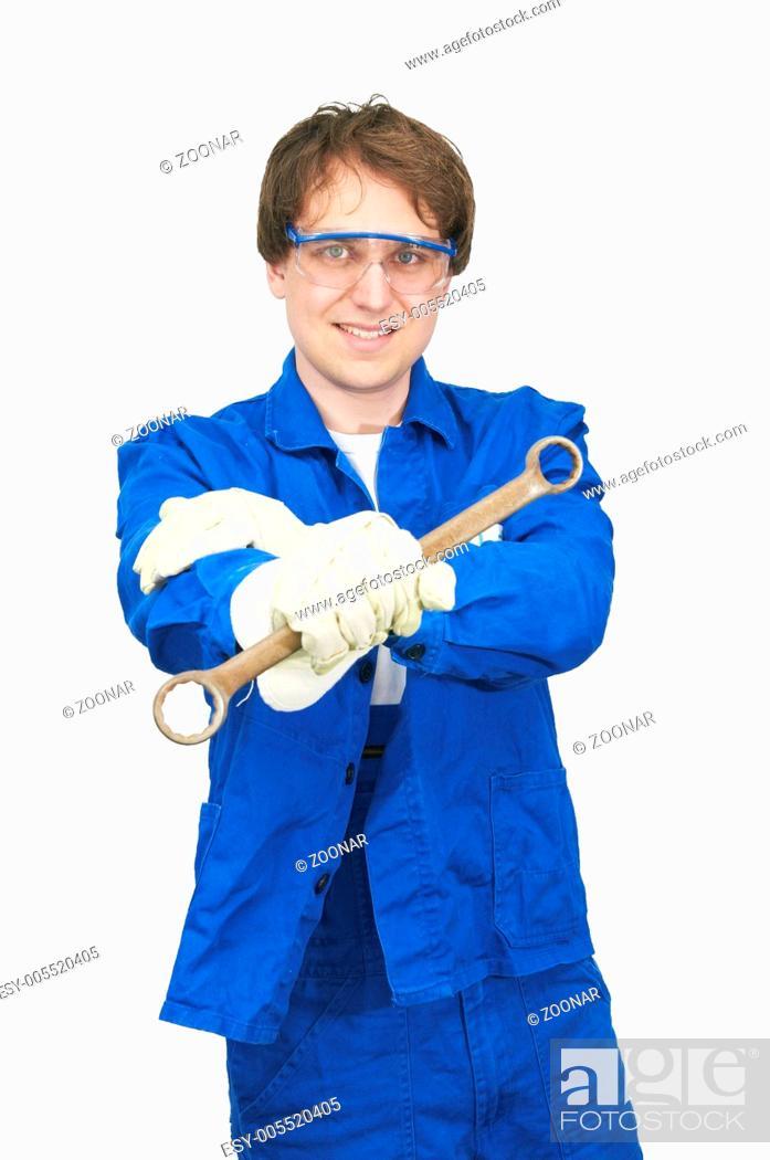 Stock Photo: engineer.