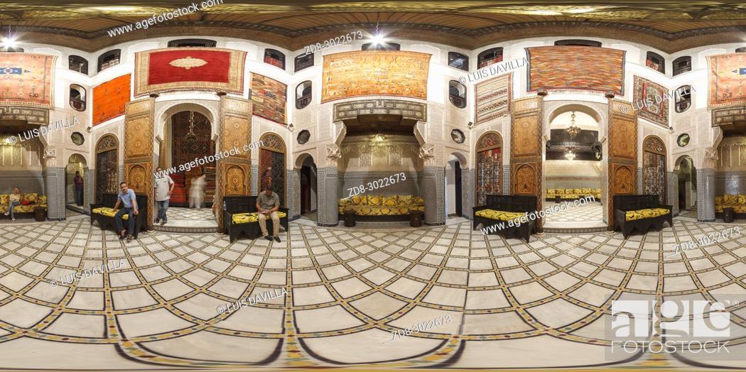 Imagen: Interior of Palais Quaraouiyine. Fes. Morocco.