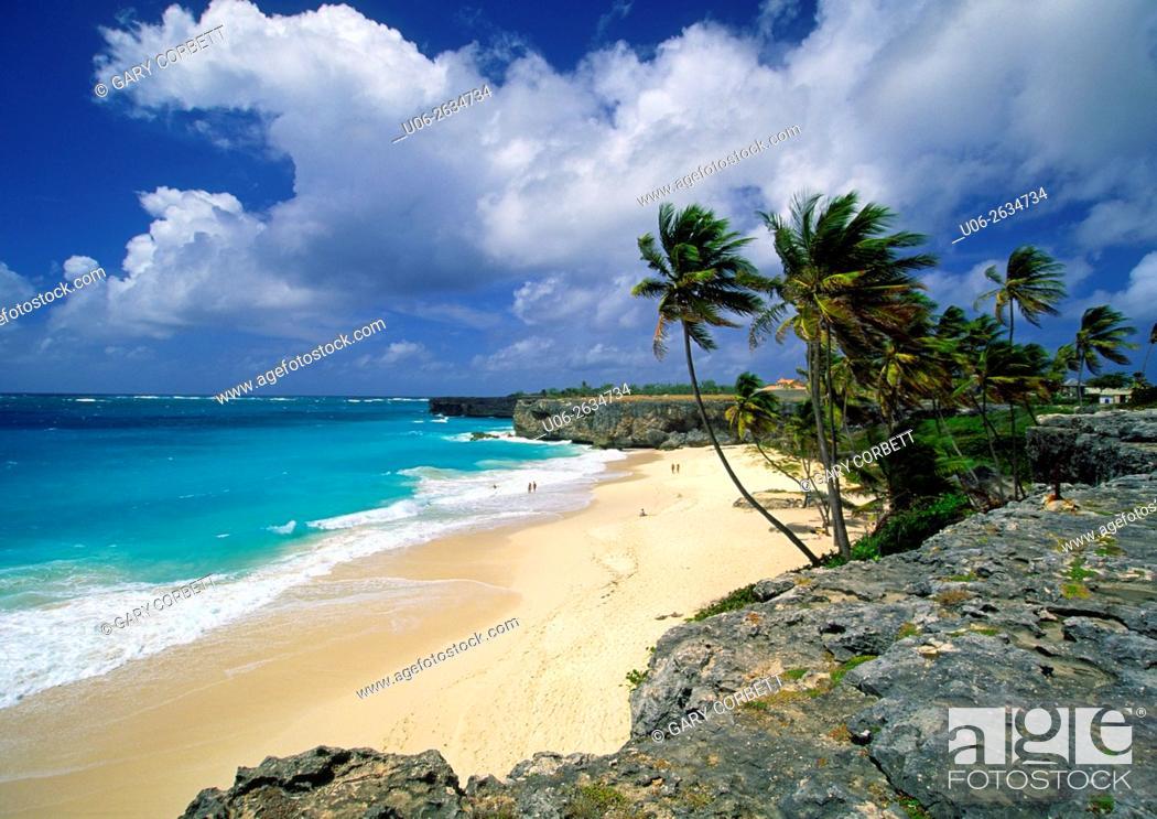 Stock Photo: Bottom bay, Barbados.