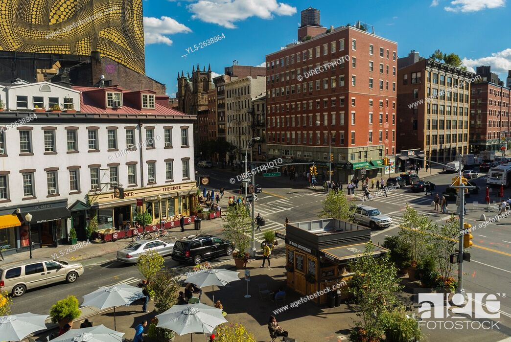 Stock Photo: New York City, USA, Street Scenes in Manhattan, Meat packing District, .