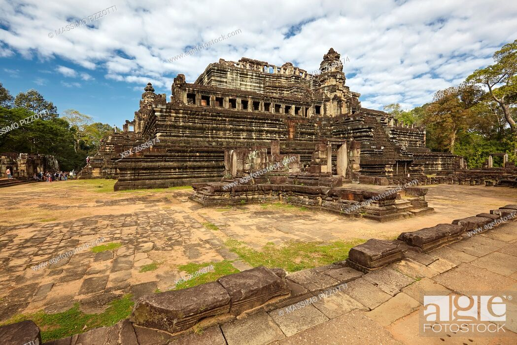 Stock Photo: Baphuon temple in Angkor Thom, Siem Reap, Cambodia.