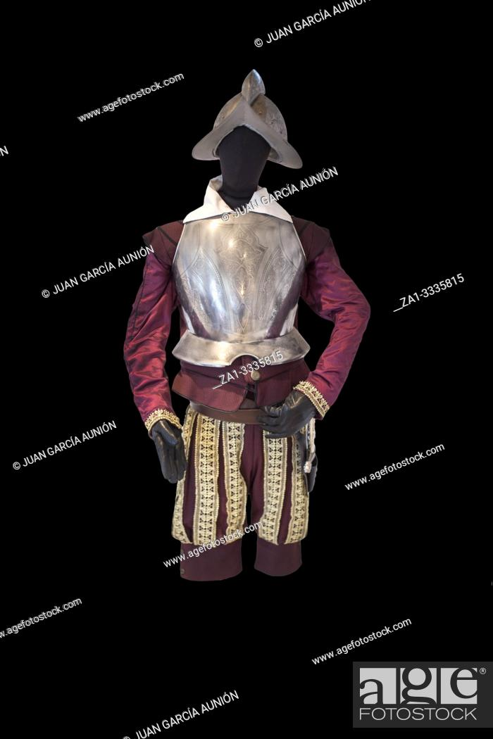 Imagen: Conquistador appearance. Isolated. House-Museum of Balboa, Jerez, Extremadura, Spain.