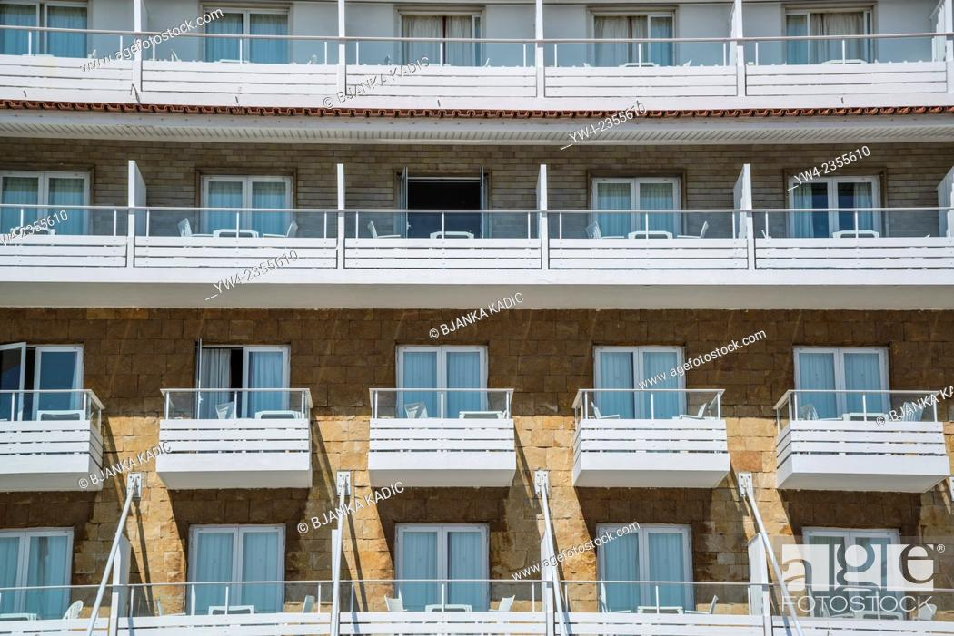 Stock Photo: Identical rooms of a hotel, Cascais, Portugal.