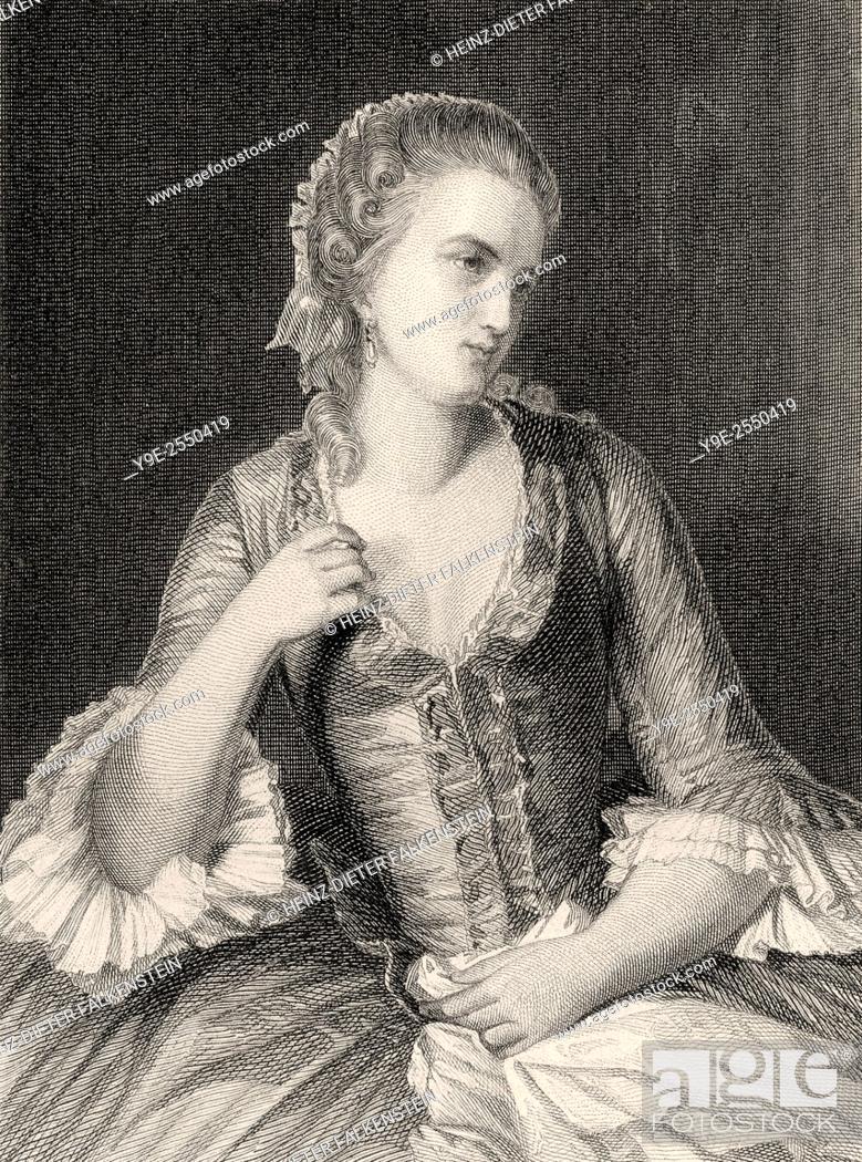 Marie Beaumarchais In Clavigo The Tragedy By Johann