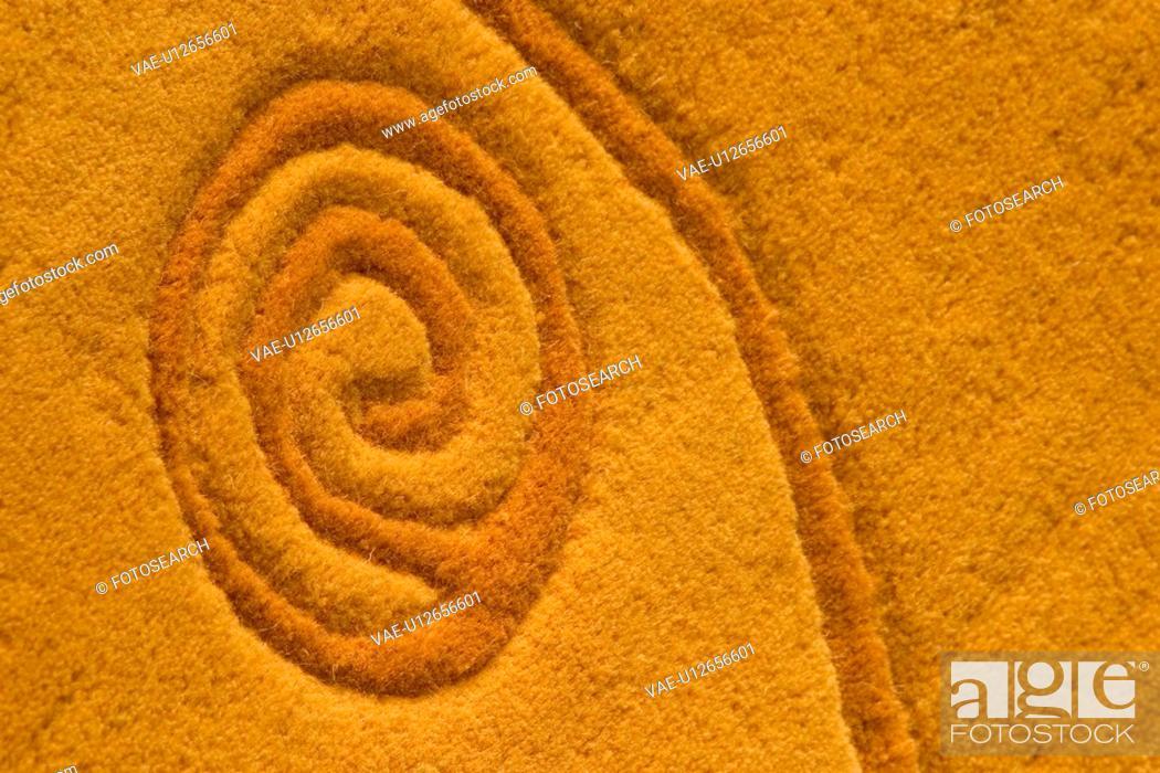 Stock Photo: craft, artistic, woven, weave, figure, carpet.