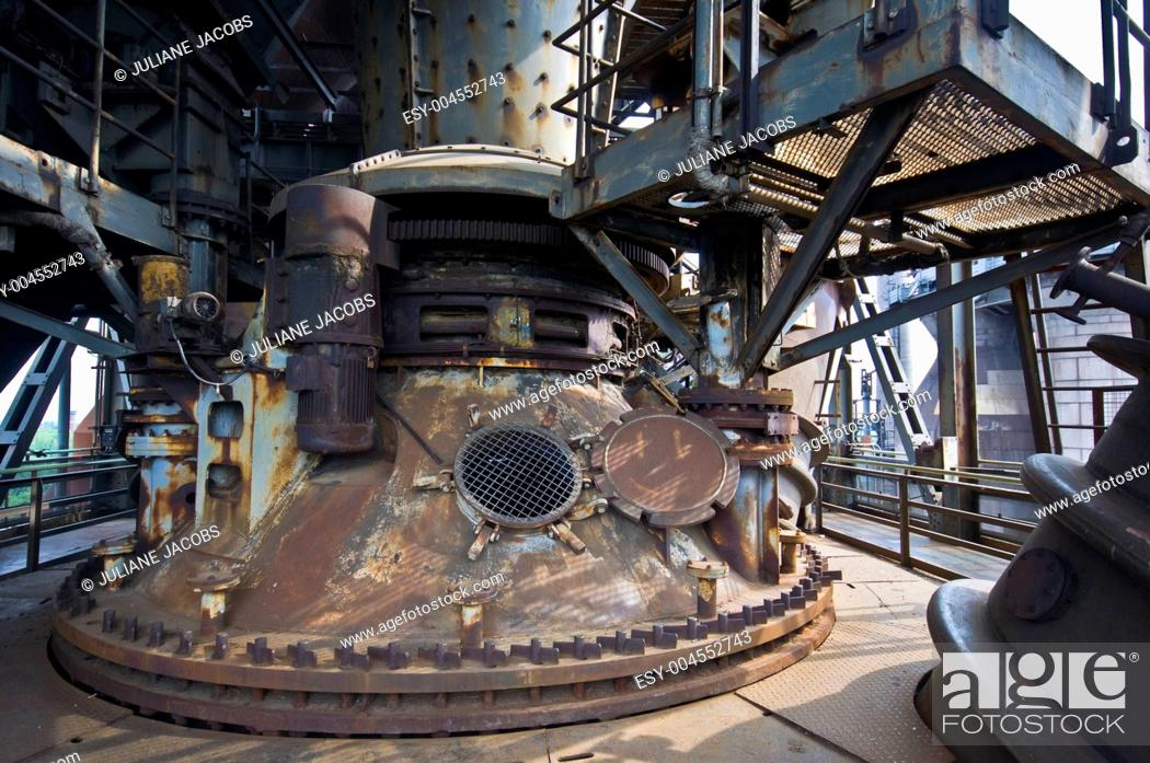 Stock Photo: Landschaftspark Duisburg-Nord.